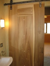 Solid wood (poplar) interior doors were sealed with AFM Safeseal.